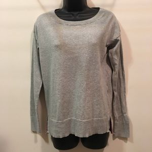 GAP Small basic gray cotton crew neck  sweater